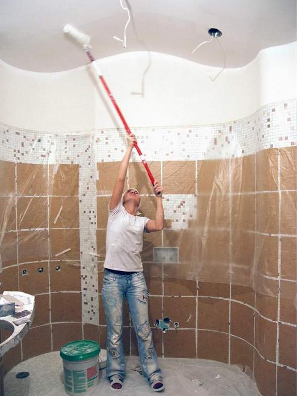 Сделать ремонт ванну своими руками